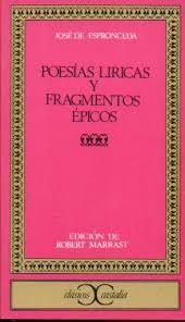 Poesías líricas y fragmentos épicos