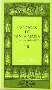 Cantigas de Santa María, I