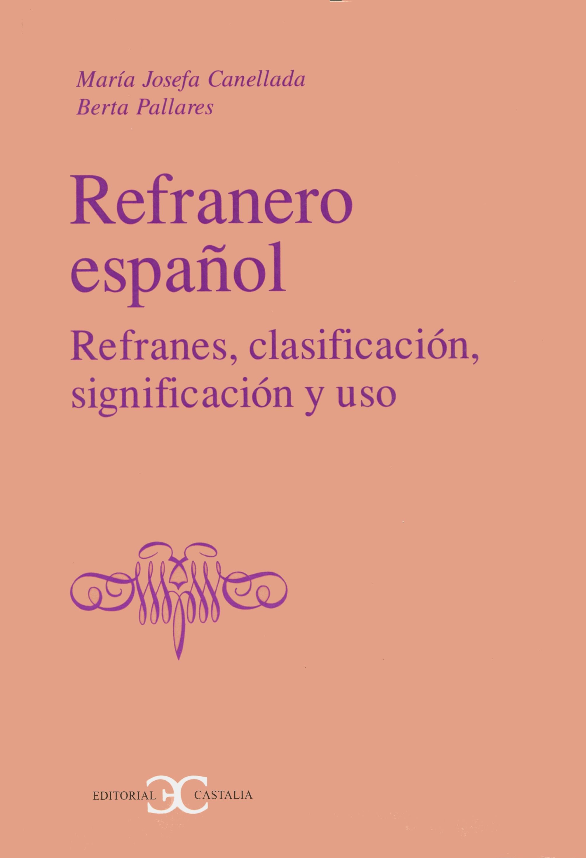 Refranero español