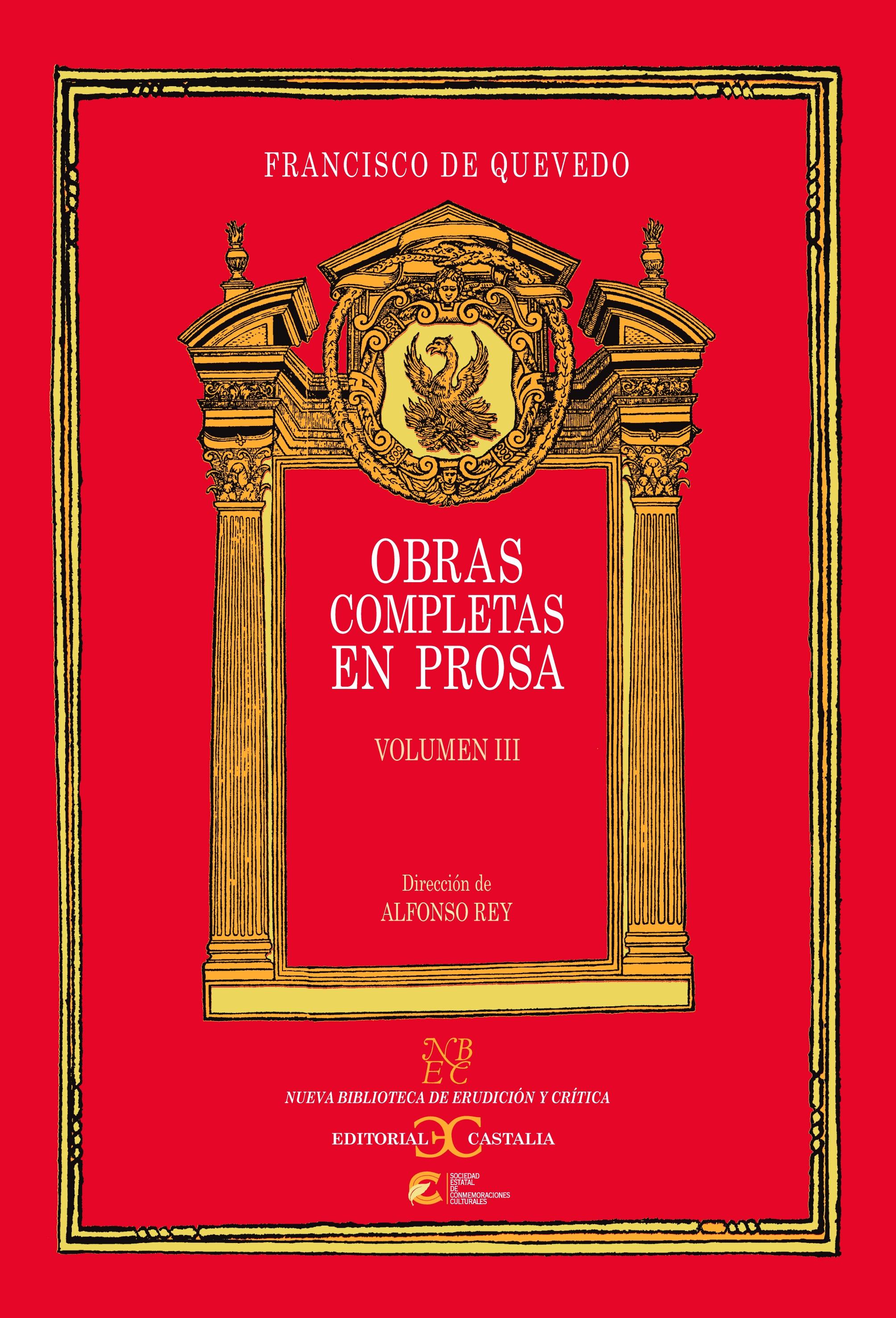 Obras completas en prosa. Volumen III