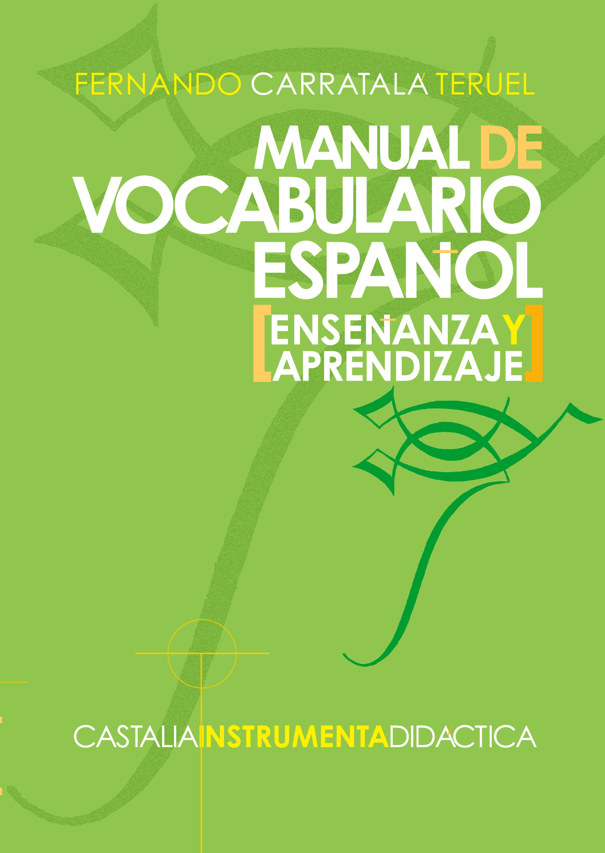 Manual de vocabulario español