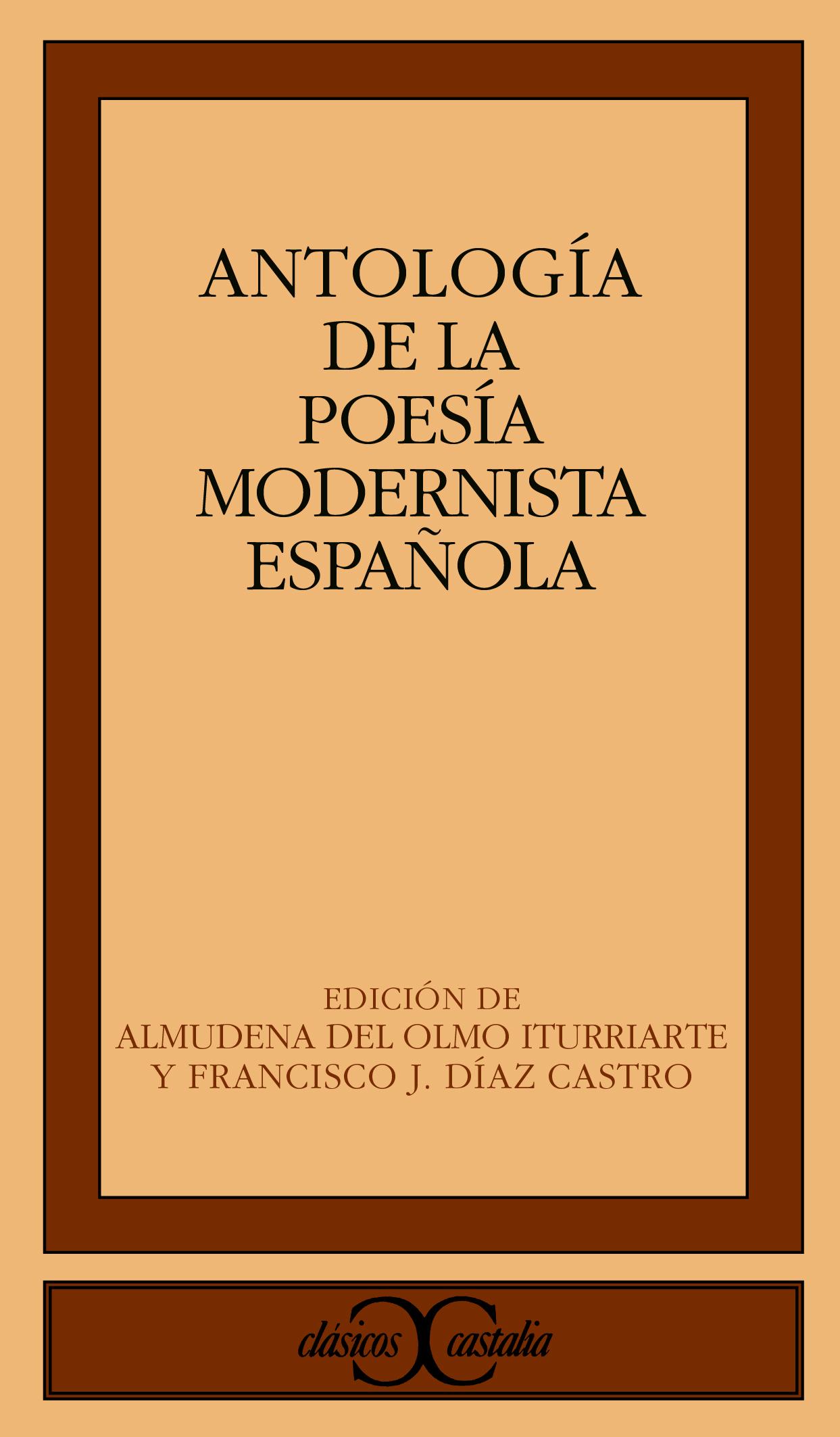 Antología de la poesía modernista española