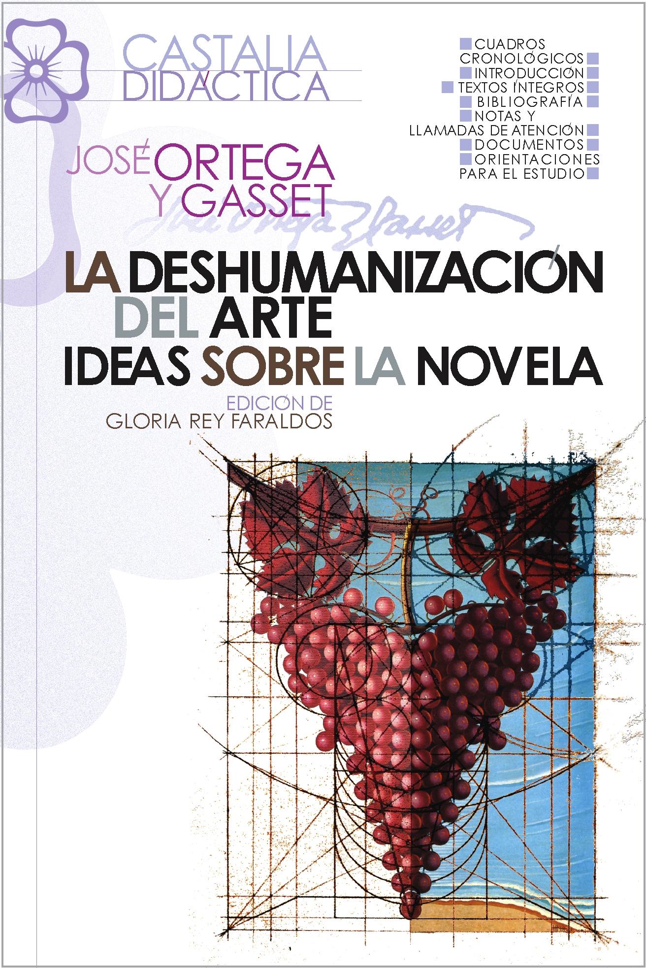 La deshumanización del arte. Ideas sobre la novela