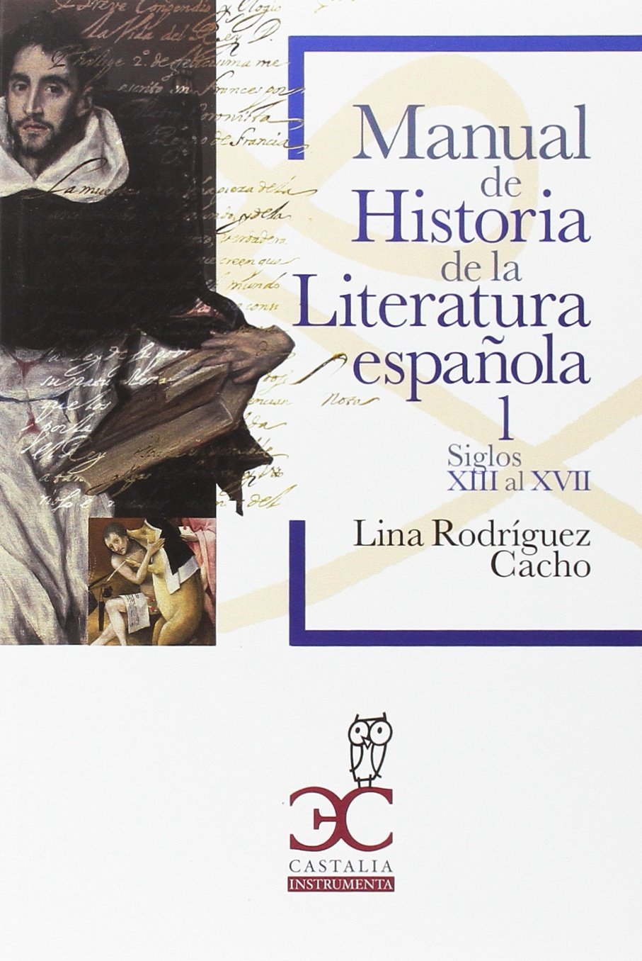 Manual de Historia de la Literatura española 1