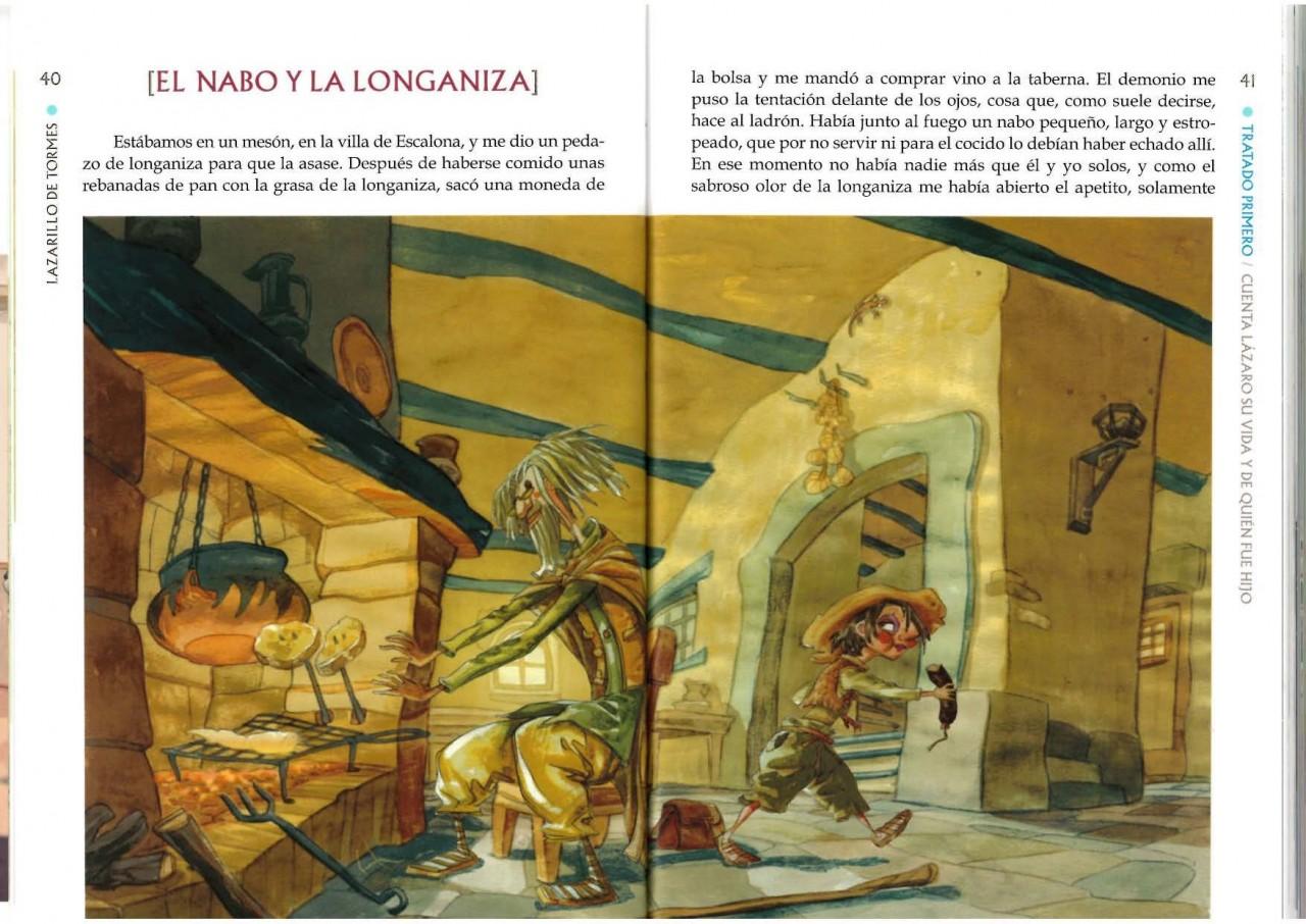 interior de El Lazarillo